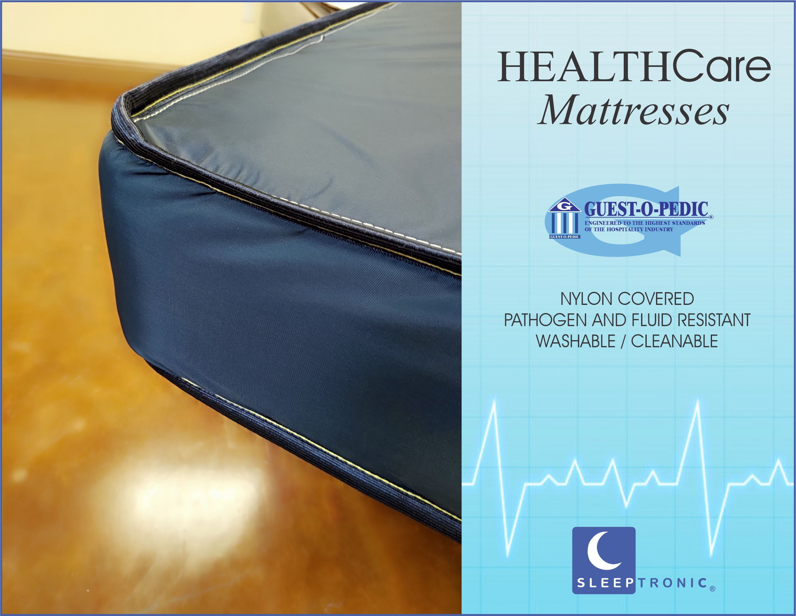 Health Care Mattress by Guest-O-Pedic