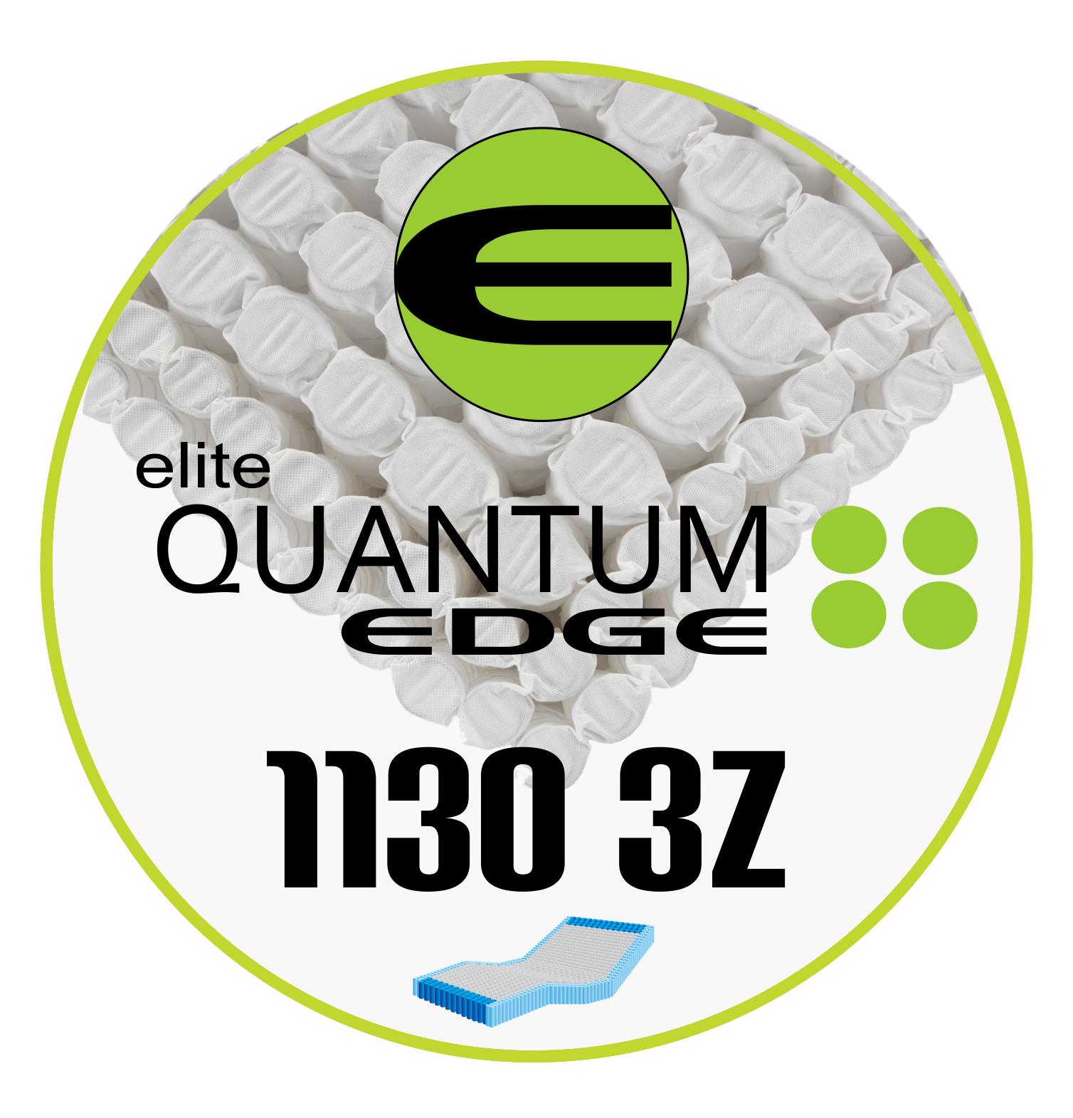 db9a7b5cd5a50 Quantum® Edge and Quantum® Elite - One of the most advanced spring systems  available in the US is the Quantum Coil from Leggett and Platt.